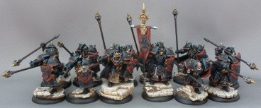 An picture of my Black Dragon Ironfang Pikemen