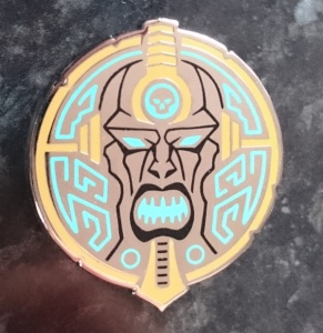 Ruin's Orgoth Shield Privateer Press Pin