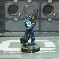Panoceania Aquila Guard with HMG